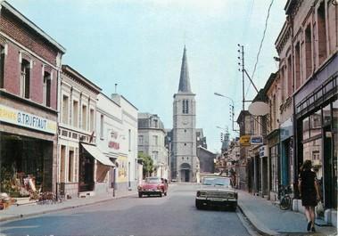 """/ CPSM FRANCE 59 """"Denain, rue de Villars"""""""