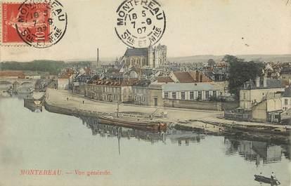"""CPA FRANCE 77 """"Montereau"""""""