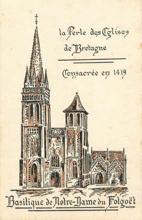 """/ CPA FRANCE 29 """"Basilique de Notre Dame de Folgoët"""""""