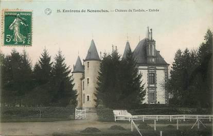 """CPA FRANCE 28 """"Env. de Senonches, Château de Tardais"""""""