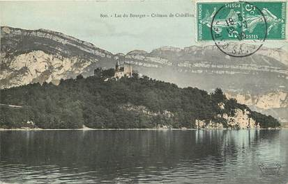 """CPA FRANCE 73 """"Lac du Bourget, Chateau de Châtillon"""""""