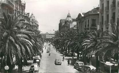 "CPSM ALGERIE ""Oran, le bld Galliéni"""