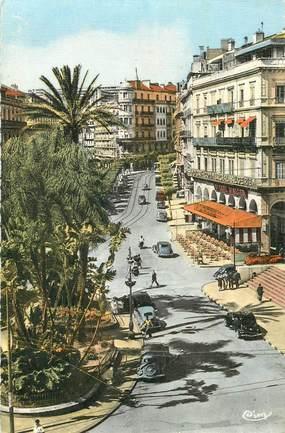 """CPSM ALGERIE """"Alger, rue Dumont d'Urville"""""""