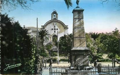"""CPSM ALGERIE """"Tizi Ouzou, monument aux morts"""""""