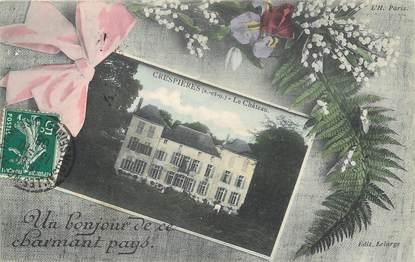 """/ CPA FRANCE 78 """"Crespières, le château"""""""