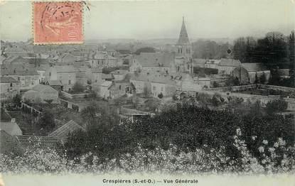"""/ CPA FRANCE 78 """"Crespières, vue générale """""""