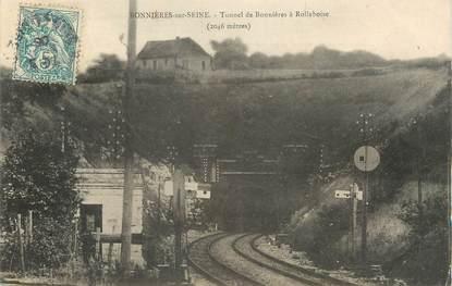 """/ CPA FRANCE 78 """"Bonnières sur Seine, Tunnel de Bonnières à Rolleboise"""""""