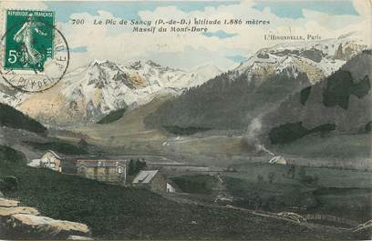 "CPA FRANCE 63 ""Le Pic de Sancy, massif du Mont Dore"""