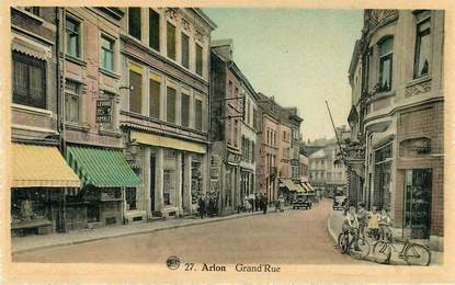 "CPA BELGIQUE ""Arlon, grand'rue"""