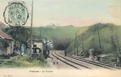 "/ CPA FRANCE 78 ""Freneuse, le tunnel"""