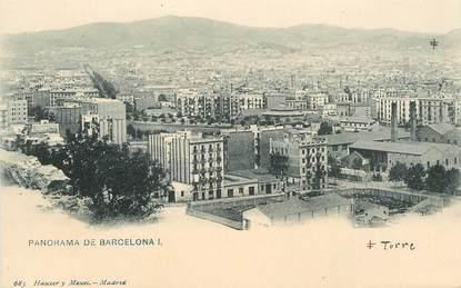 """CPA   ESPAGNE """" Barcelone   """""""