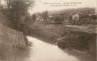 """/ CPA FRANCE 78 """"Fourcherolles, paysage sur l'Yvette"""""""