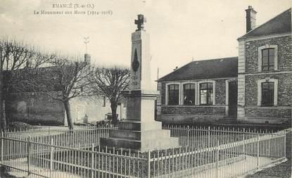 """/ CPA FRANCE 78 """"Elancé, le monument aux morts"""""""