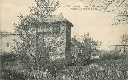 "/ CPA FRANCE 78 ""Girouard, ancien moulin et l'étang"""