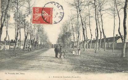"""/ CPA FRANCE 78 """"Avenue de Gambais"""""""