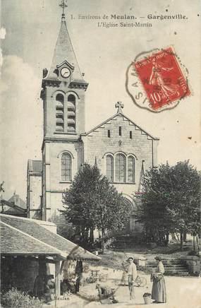 """/ CPA FRANCE 78 """"Gargenville, l'église Saint Martin"""""""
