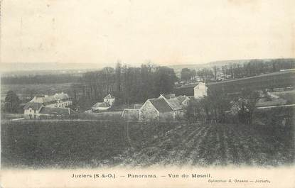 """/ CPA FRANCE 78 """"Juziers, panorama, vue du Mesnil"""""""