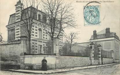 """/ CPA FRANCE 78 """"Maule, rue de Maréchaux"""""""