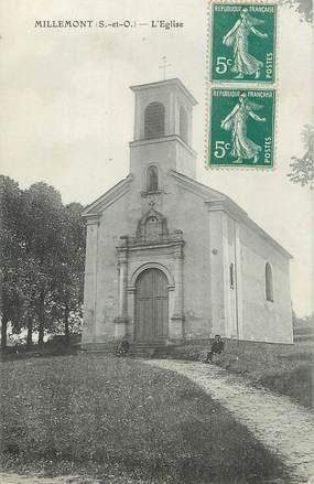 """/ CPA FRANCE 78 """"Millemont, l'église"""""""