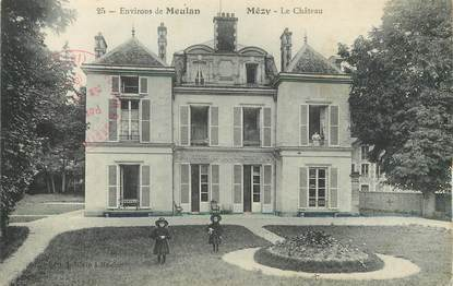 "/ CPA FRANCE 78 ""Mézy, le château"""