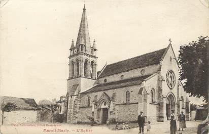 "/ CPA FRANCE 78 ""Mareil Marly, l'église"""