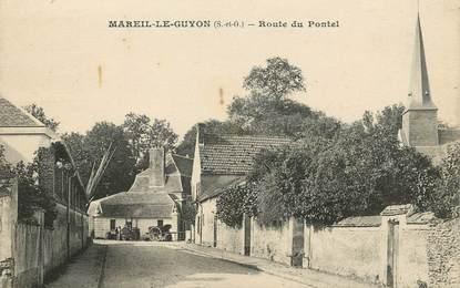 """/ CPA FRANCE 78 """"Mareil Le Guyon, route du Pontel"""""""