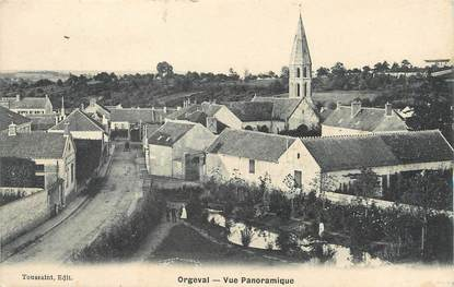 """/ CPA FRANCE 78 """"Orgeval, vue panoramique"""""""