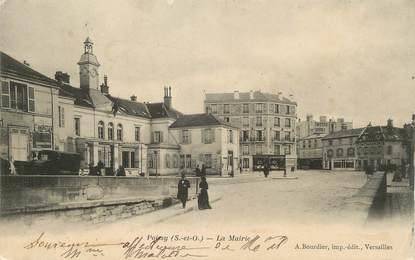 "/ CPA FRANCE 78 ""Poissy, la mairie"""
