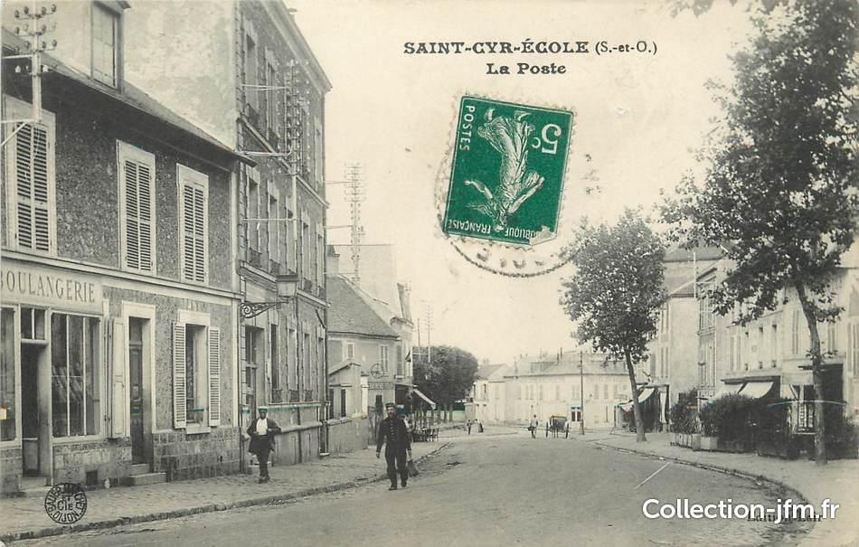 Cpa france 78 saint cyr l 39 cole la poste 78 for Agrandissement maison houilles