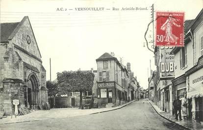 "/ CPA FRANCE 78 ""Vernouillet, rue Aristide Briand"""