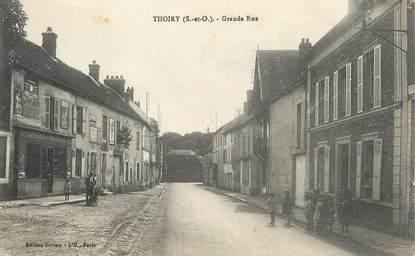 "/ CPA FRANCE 78 ""Thoiry, grande rue"""