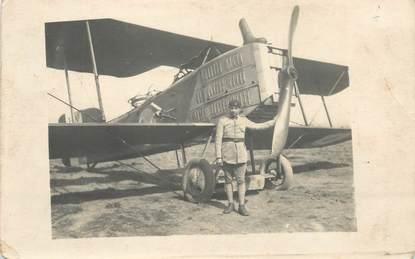 CARTE PHOTO AVIATION / 35ème régiment