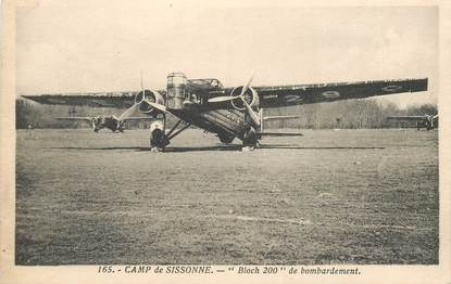 "CPA AVIATION ""Camp de Sissonne, Bloch 200"""
