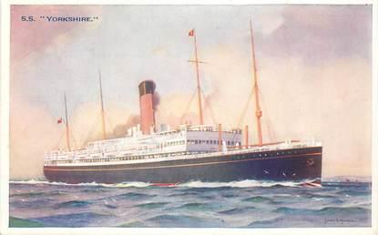 "CPA BATEAU / PAQUEBOT ""SS Yorkshire"""