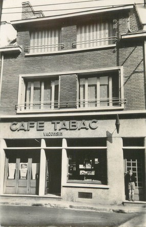 """/ CPSM FRANCE 60 """"Beauvais, Café Tabac Vaconsin"""""""