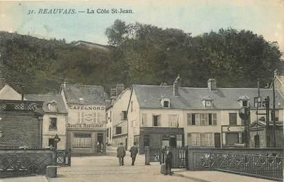 """/ CPA FRANCE 60 """"Beauvais, la Côte Saint Jean"""""""