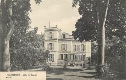 "/ CPA FRANCE 60 ""Compiègne, villa Sainte Jeanne"""