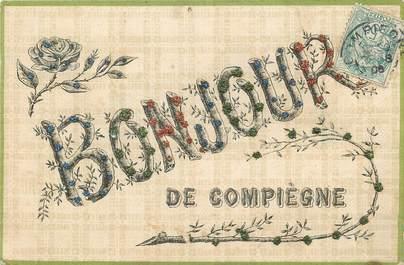 "/ CPA FRANCE 60 ""Compiègne"""