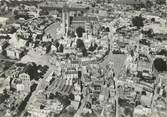 """60 Oise / CPSM FRANCE 60 """"Noyon, vue aérienne, la cathédrale"""""""