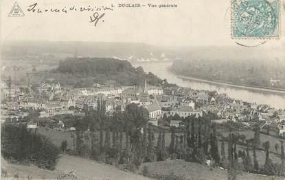 """/ CPA FRANCE 76 """"Duclair, vue générale """""""