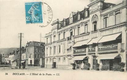 """/ CPA FRANCE 76 """"Duclair, l'hôtel de la poste"""""""