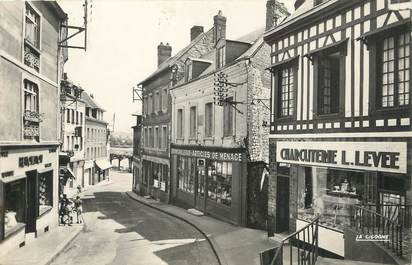 """/ CPSM FRANCE 76 """"Duclair, la rue Pavée"""""""