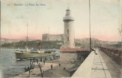 "CPA FRANCE 13 ""Marseille, le Phare Sainte Marie"""