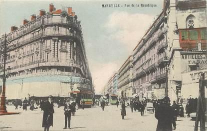 """CPA """"Marseille, rue de la République"""" / Magasin La Samaritaine"""