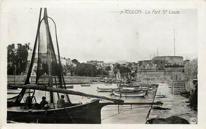 """CPSM FRANCE 83 """"Toulon, le Fort Saint Louis"""""""