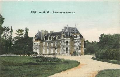 """CPA FRANCE 45 """"Sully sur Loire, chateau des Buissons"""""""