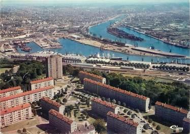 """/ CPSM FRANCE 76 """"Canteleu, au second plan, le port de Rouen"""""""