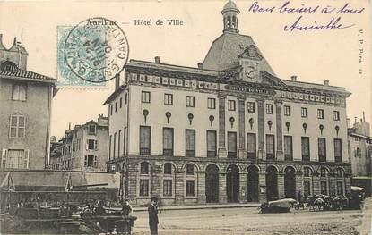 """/ CPA FRANCE 15 """"Aurillac, hôtel de ville"""""""
