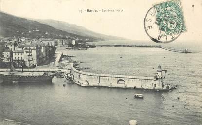 """/ CPA FRANCE 20 """"Corse, Bastia, les deux ports """""""
