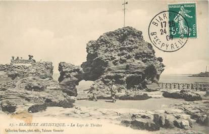 """/ CPA FRANCE 64 """"Biarritz, la loge du théâtre"""""""